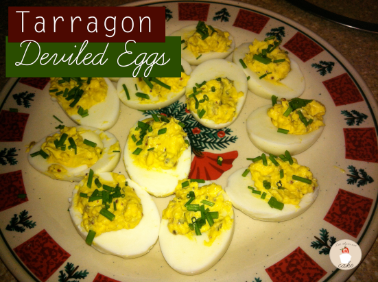 Tarragon-Eggs